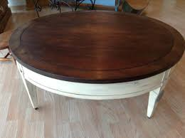 large round cocktail table coffee tables ideas awesome antique round coffee table wood vintage