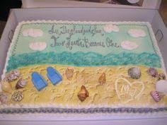 bridal shower beach cake ideas luxury bridal shower cake carley