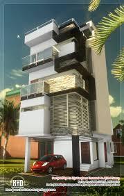 3 floor contemporary narrow home design home design ideas for you