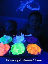 glow paint glowing bath paint growing a jeweled
