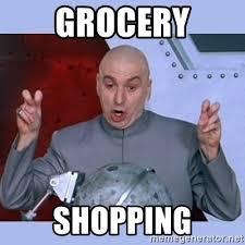 Grocery Meme - grocery shopping dr evil meme meme generator