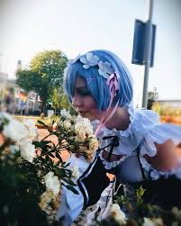 subaru and emilia cosplay images about rezero tag on instagram