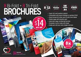 adobe tri fold brochure template 8 print ready indesign bi fold tri fold brochure templates