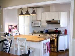Kitchen Peninsula Lighting Cool Kitchen Design Plus Rustic Cabinets Peninsula Pendant Lights