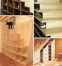 Under Stairs Shelves by 27 Genius Ways To Use The Space Under Your Stairs Credenza
