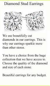 diamond stud size diamond stud earrings the diamond specialists inc kahala
