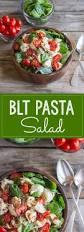 classic pasta salad blt pasta salad lovely little kitchen