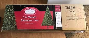 lighted palm tree kmart trim a home 6ft boulder mountain christmas tree with 300 clear