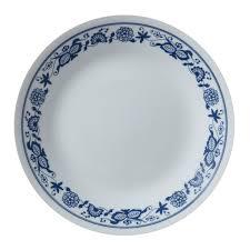 livingware true blue 16 pc dinnerware set corelle
