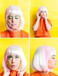 winks u0026 wigs diy wig and lash combinations for halloween
