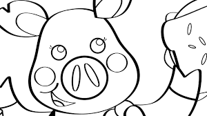 this little piggy coloring page mother goose club mother