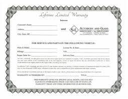 s u0026l autobody and glass warranty page