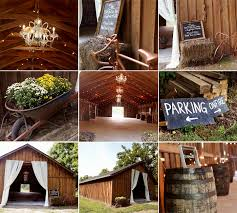 barn weddings cheap rustic wedding theme decorations archives