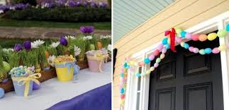 Outdoor Easter decorations – 27 ideas for garden and entry into