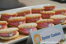 seashell shaped cookies to make oyster cookies