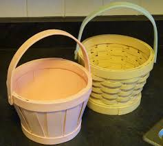 painted easter baskets chalk paint the wicker chicken