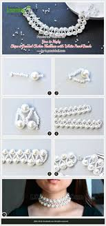 white pearl beaded necklace images 1679 best jewelry making tutorials tips 2 images jpg