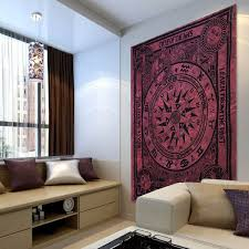 Bedroom Tapestry Wall Hangings Online Get Cheap Wall Tapestry Purple Aliexpress Com Alibaba Group