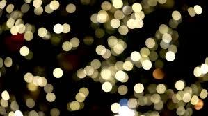 defocused christmas tree lights computer generated seamless loop