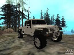 jeep gladiator military jeep gladiator for gta san andreas