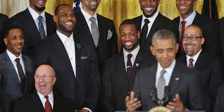 Mario Chalmers Meme - obama jokes about mario chalmers getting yelled at by teammates