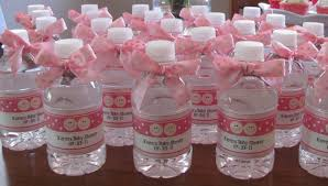 Decorate Water Bottle Cheap Baby Shower Decorations For Twins Water Bottles 2827 23