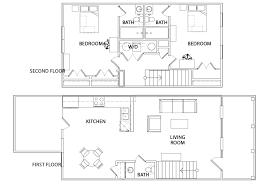 Floor Plan Bed Floor Plans The Retreat Student Housing San Marcos Tx