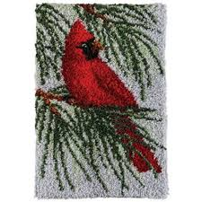 Latch Hook Rugs Craftways Cardinal Latch Hook