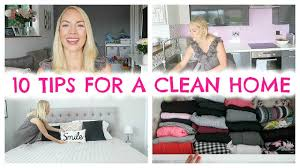 How To Keep A Clean House 10 Tips For A Clean Home Habits For Keeping A Clean House Youtube