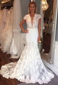 wedding dresses ireland ldk berta bridal style backless mermaid lace gown sell my