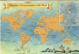 Christopher Columbus Route Map by Spanish Exploration Lessons Tes Teach
