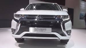 white mitsubishi outlander mitsubishi outlander phev white 2016 exterior and interior in 3d