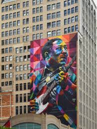 Mural Software by 10 Story High Mural Of Muddy Waters Goes Up In Chicago Open Culture