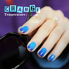 perfect summer chameleon temperature changing colour nail lacquers