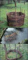 How To Make A Moss Wall by Top 25 Best Wattle Fence Ideas On Pinterest Willow Fence Diy