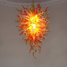 Glass Blown Chandelier Buy The Anemone 29 Blown Glass Chandelier By Manufacturer Name