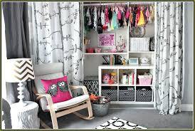 closet curtains dorm curtain ideas open vs doors