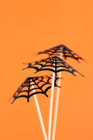 umbrella drink svg spider halloween party decor