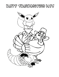 pokemon thanksgiving turkey coloring u0026 coloring pages
