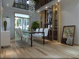 modern living and dining room fully furnished and decorated i