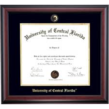 ucf diploma frame of central florida graduation diploma frames by college ocm