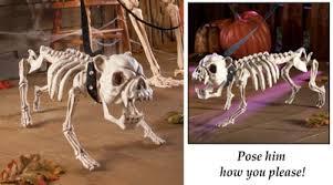 posable skeleton posable skeleton dog decoration sugar skulls