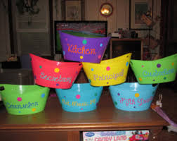personalized buckets etsy