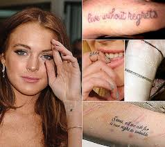 celebrity tattoos images on celebrities tattoos