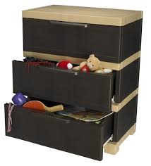 Nilkamal Kitchen Furniture Nilkamal Freedom Chester 13 With 3 Drawers Weather Brown And