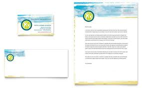letterhead templates for pages special education business card letterhead template design