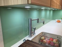 kitchen green glass backsplash kitchen with dark walnut cabinets
