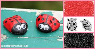 ladybug party ideas party on purpose