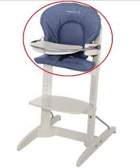 chaise woodline charmant chaise haute b confort house woodline divin denim bebe bb