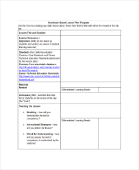 lesson plan template 17 free word pdf documents download